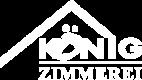 Koenig Zimmerei Logo_weiss